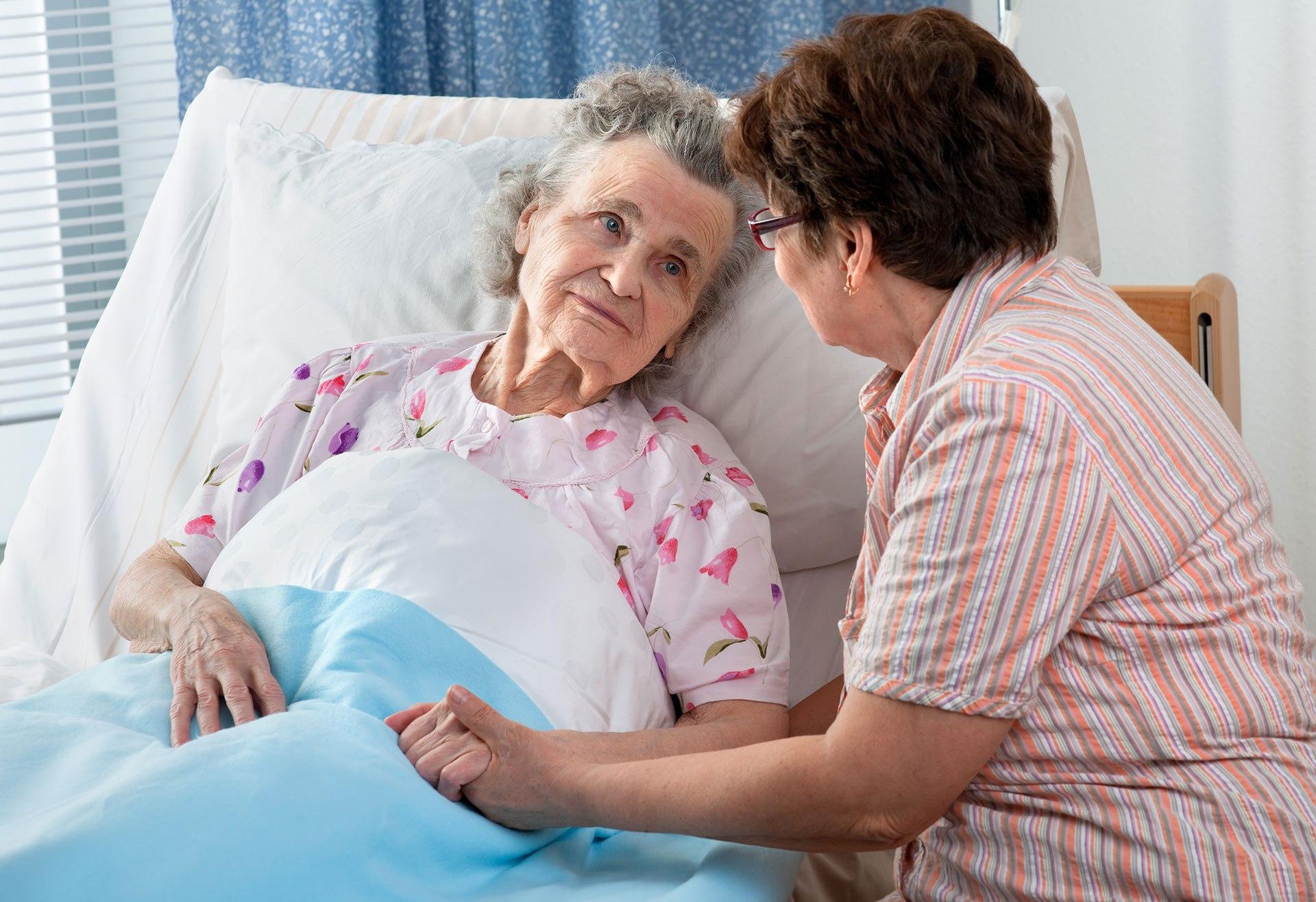 Jak opiekować się obłożnie chorym